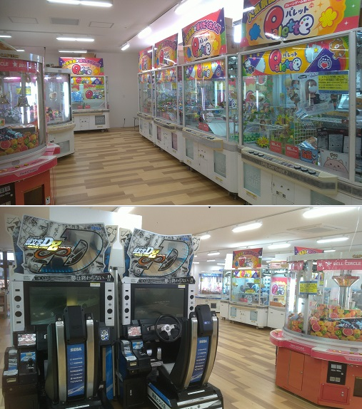 宮脇書店横のゲームセンター