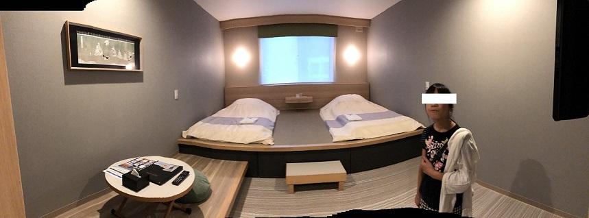 変なホテルのスーペリアタイプ和室