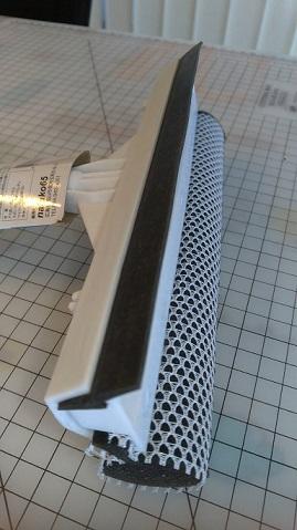 セリアの窓ふき道具、水切り