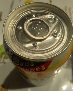 アサヒスーパードライ生ジョッキ缶(上から)