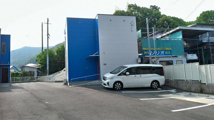 Rakuten STAY HOUSE × WILL STYLE佐世保-今回泊まった棟とその周辺とクルマ
