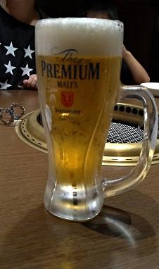 プレミアムモルツのビールジョッキ