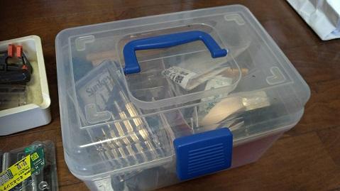 古い工具箱を東洋スチールの工具箱に換装
